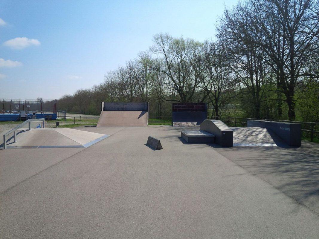 Skatepark Ansbach. Foto: Stadt Ansbach
