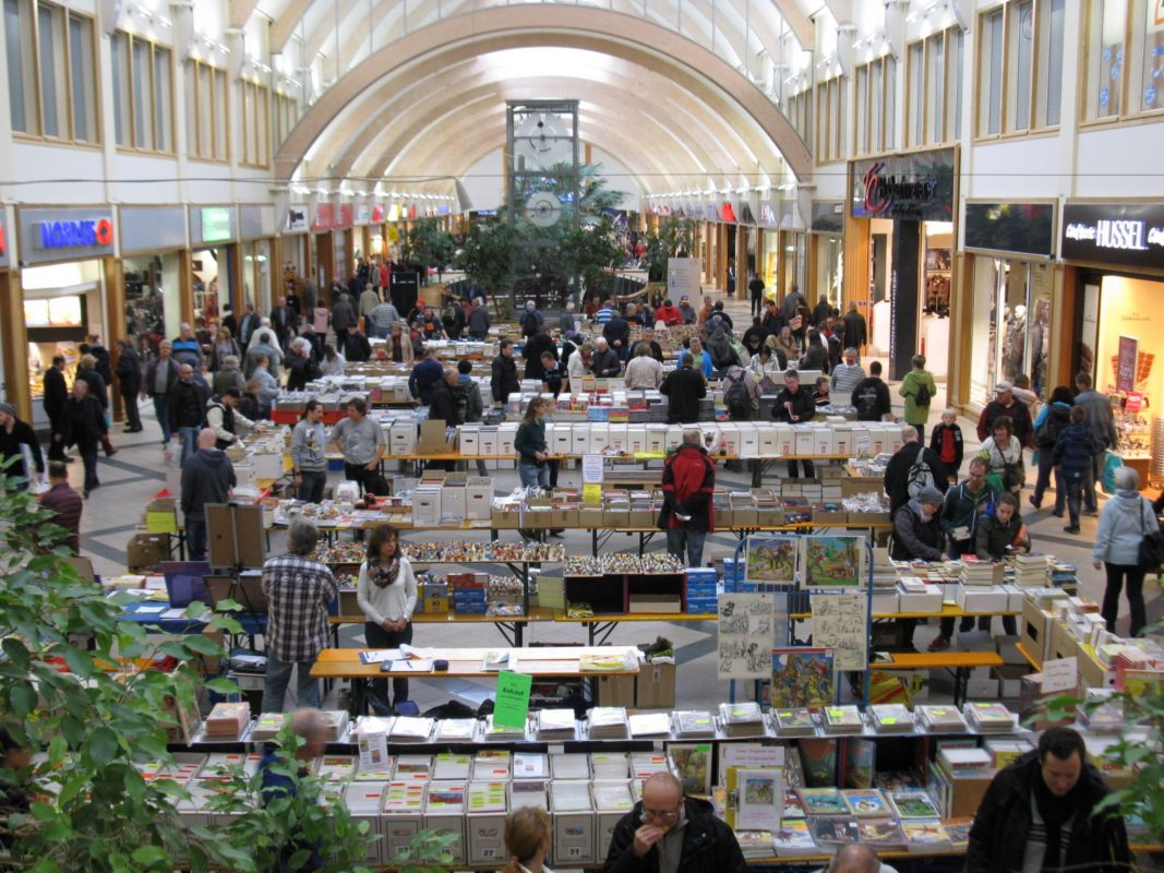 Schon in den vergangenen Jahren war die Börse gut besucht. Foto: Ansbacher Comic- und Romanbörse