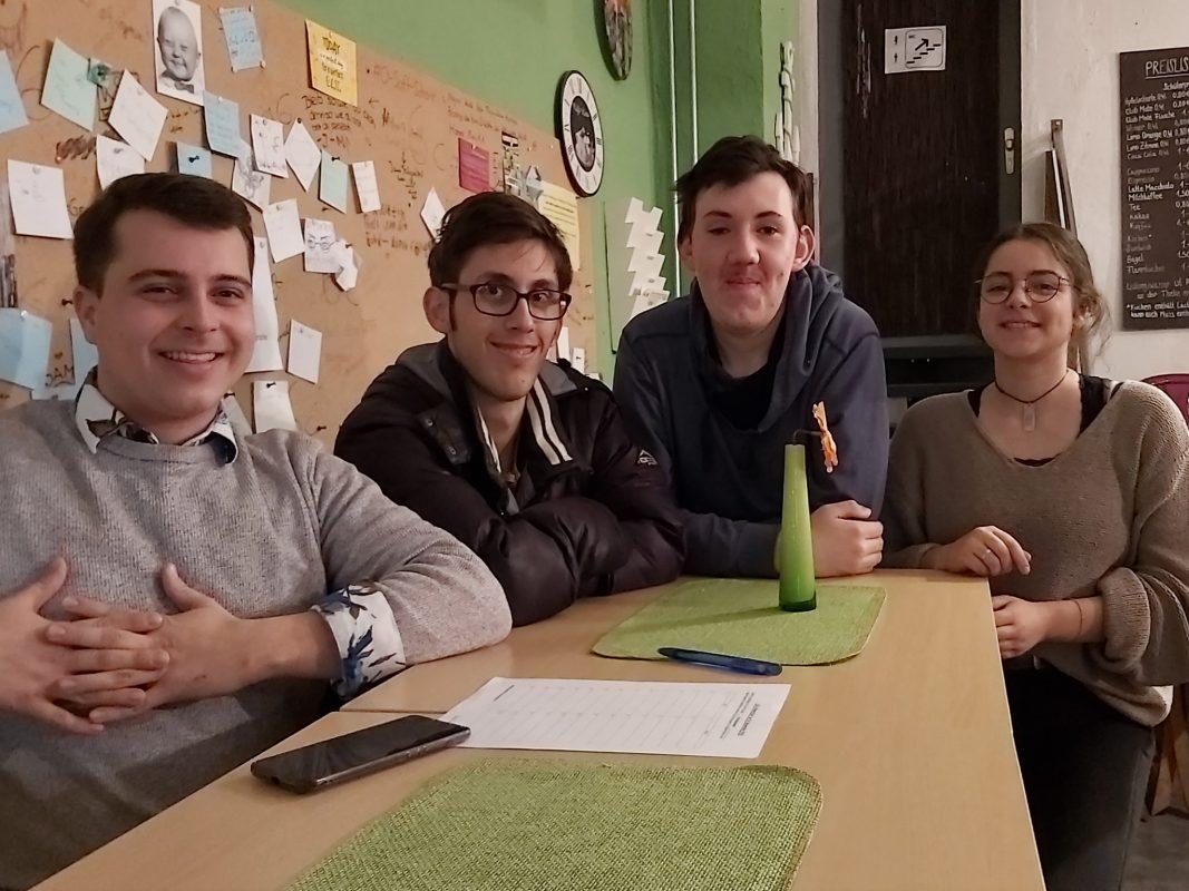 Mitglieder im Jugendrat Ansbach. Foto: Bettina Bocskai