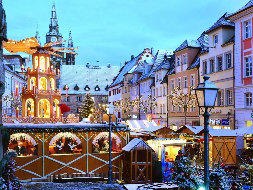 Ansbacher Weihnachtsmarkt. Foto: Jim Albright