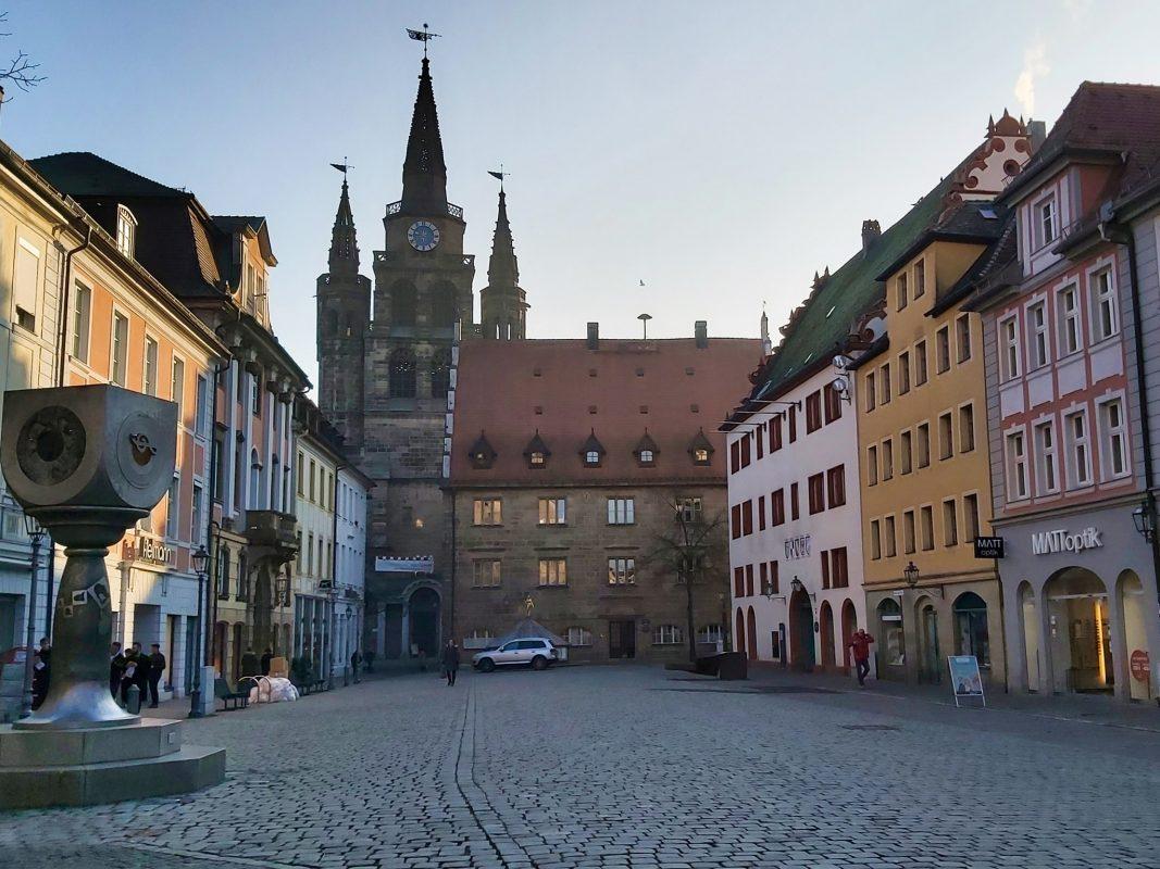 Ansbacher Innenstadt. Foto: Bettina Bocskai