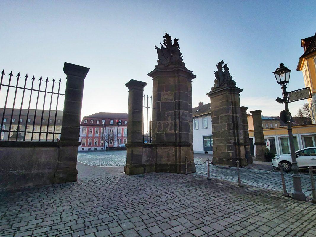 Ansbacher Innenstadt im Winter. Foto: Bettina Bocskai
