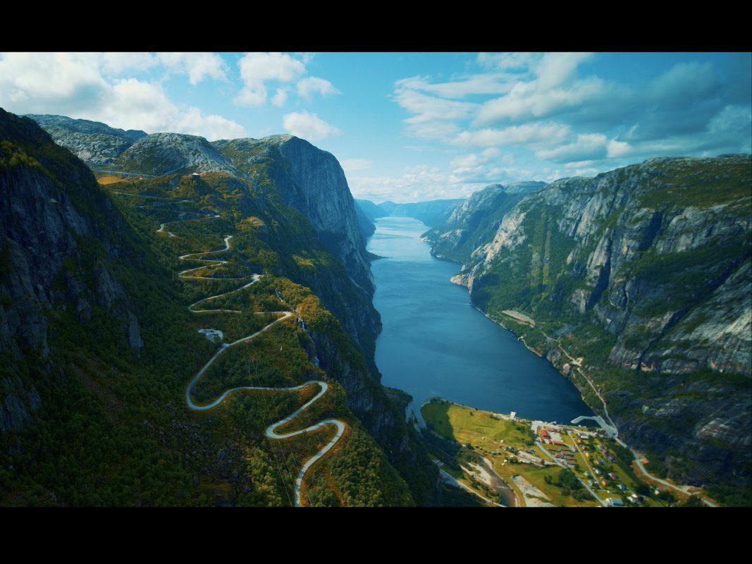 Wundervolle Landschaften begleiteten die Reisenden in Norwegen. Foto: Oliver Scholz