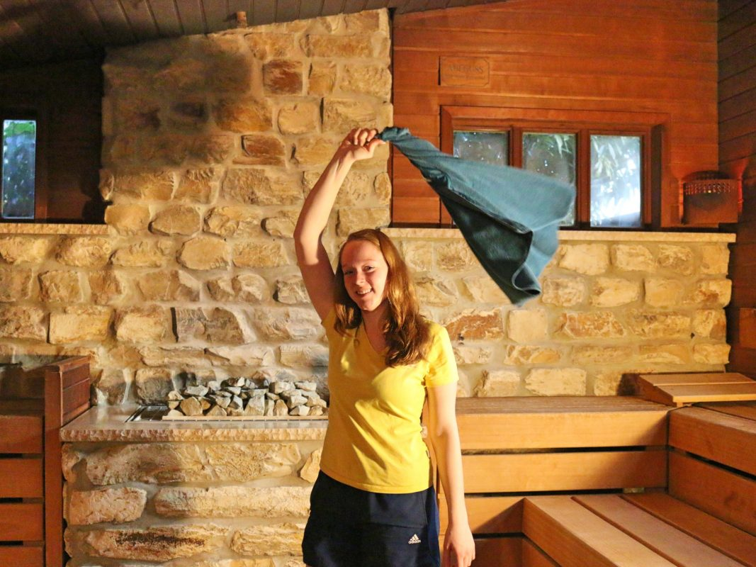 Aquella Sauna öffnet ihre Pforten für lange Saunanacht. Foto: Ansbacher Bäder und Verkehrs GmbH