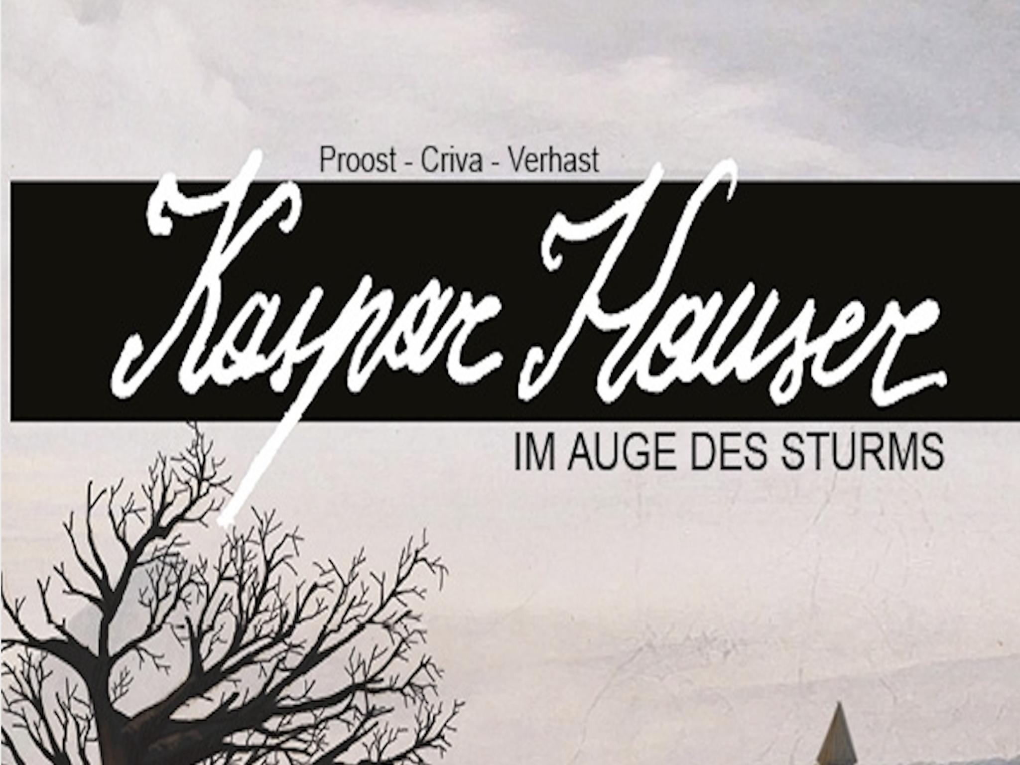 """Ein Ausschnitt des Covers der Graphic Novel """"Kaspar Hauser - im Auge des Sturms"""". ild: Mario Wagner"""