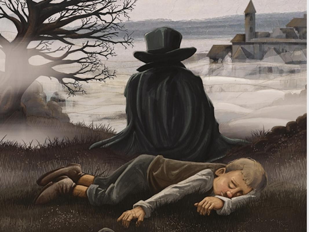"""Ein Ausschnitt des Covers der Graphic Novel """"Kaspar Hauser - im Auge des Sturms""""; Bild: Mario Wagner"""