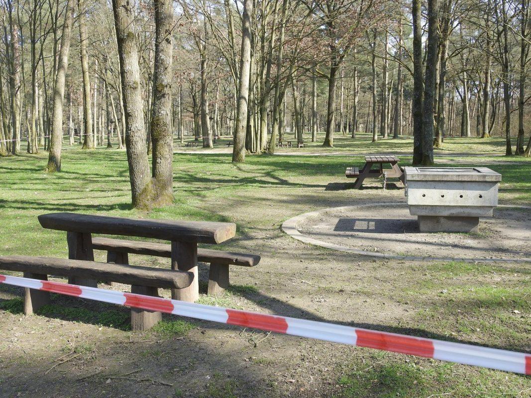 Das öffentliche Leben wird heruntergefahren - Grillplätze & Co. bleiben ein Tabu. Foto: Dirk Flieger