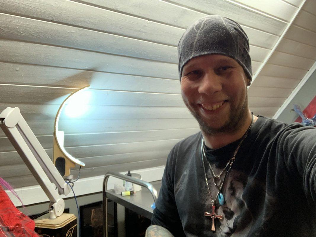 Patrick Lange ist Tätowierer aus Leidenschaft. Foto: Patrick Lange
