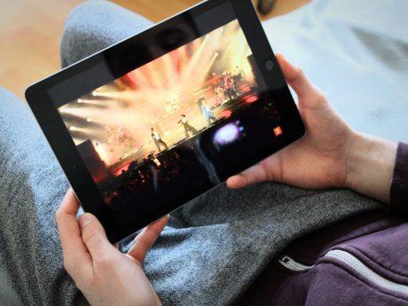 Konzert Streaming Symbolbild. Foto: Jessica Hänse
