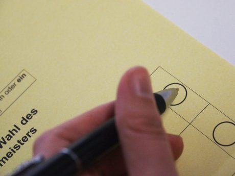 Symbolbild Wählen. Foto: Jessica Hänse