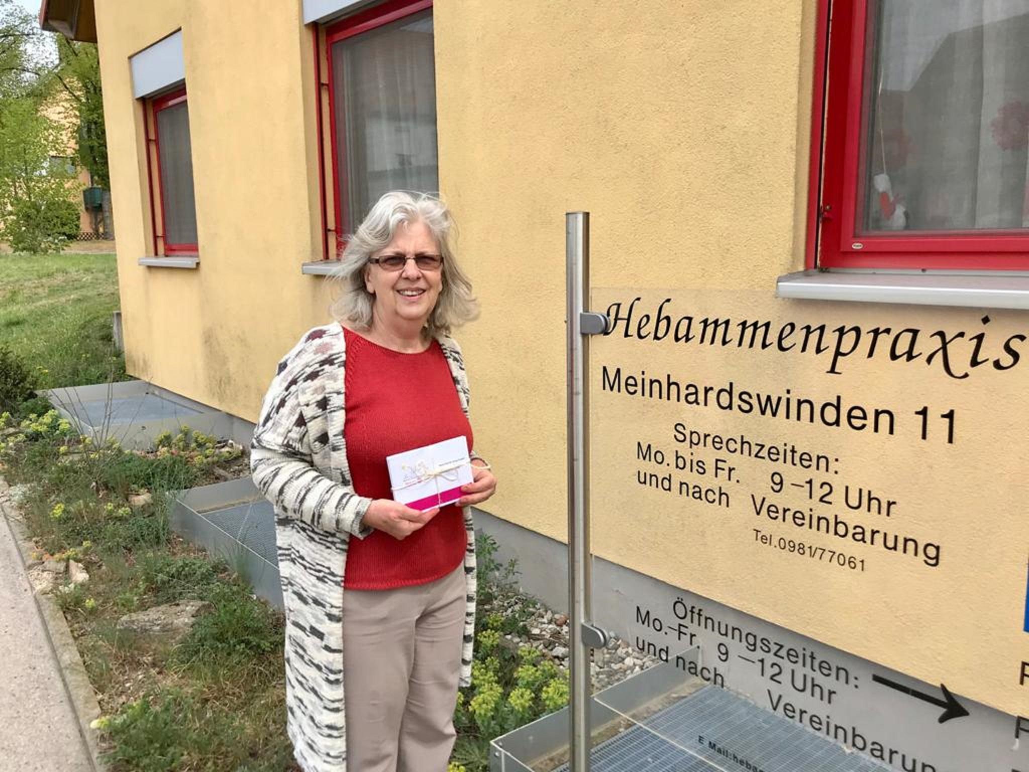 Auch die Hebammenpraxis in Meinhardswinden freut sich riesig über die Unterstützung. Foto: Rotaract-Club Ansbach
