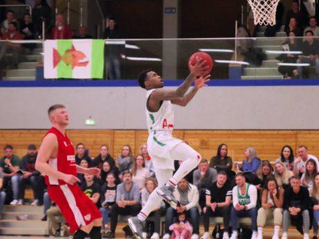 Ty'lik Evans, gewählt zum besten Regionalliga-Spieler der Saison. Foto: ©hapa Ansbach Piranhas