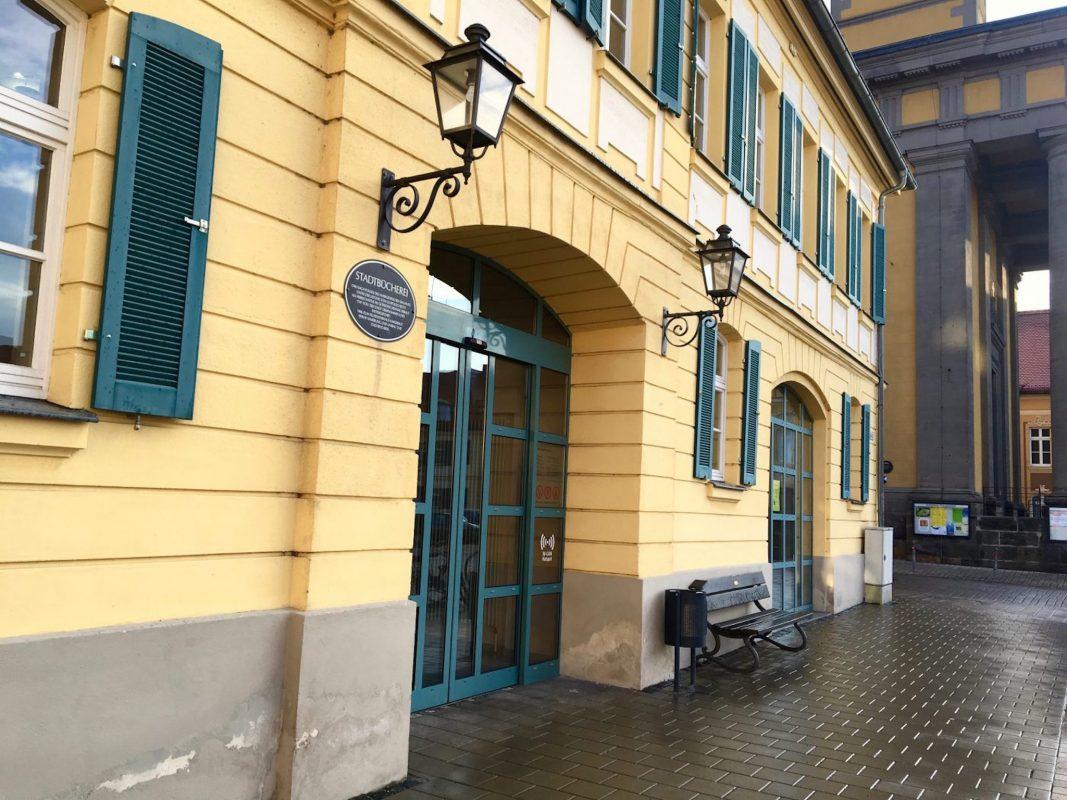 Die Stadtbücherei in Ansbach. Foto: Larissa Noack