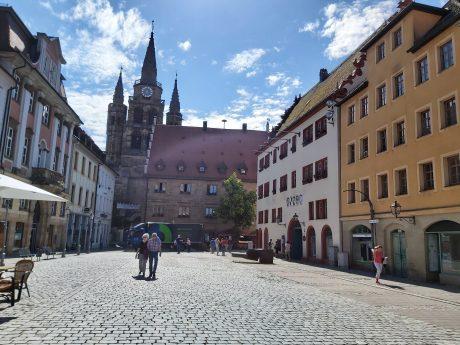 Symbolbild Innenstadt Ansbach. Foto: Bettina Bocskai