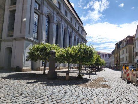 Innenstadt Ansbach im Sommer. Foto: Bettina Bocskai