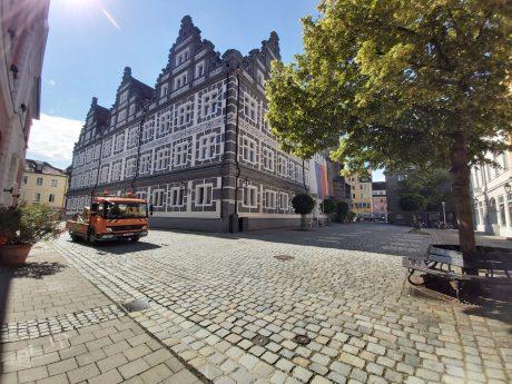 Bayerischer Verwaltungsgerichtshof, Außenstelle Ansbach. Foto: Bettina Bocskai