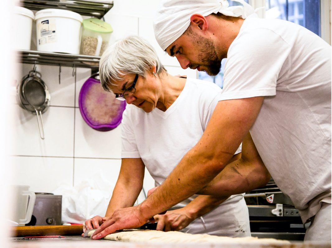 Ausbildung in einer Bäckerei. Symbolfoto: NGG