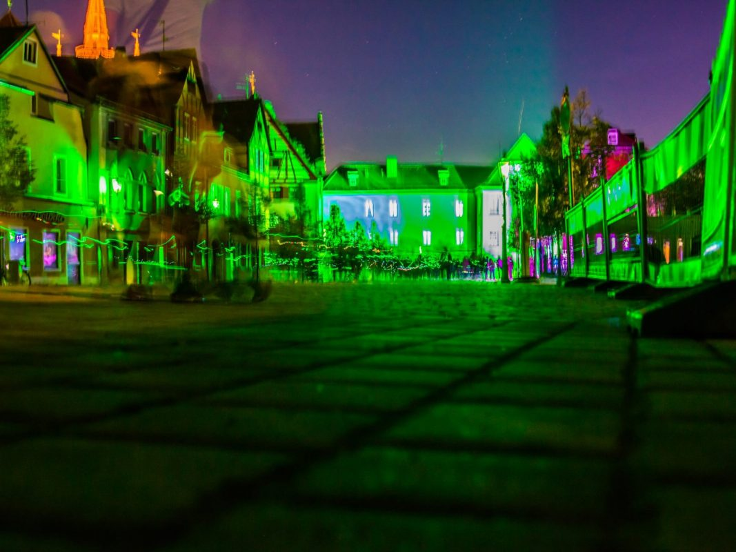 Die grüne Nacht 2018 in Ansbach. Foto: Chris Fabian Film- & Photo-Production