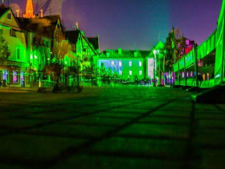 Die grüne Nacht 2018 in Ansbach. Foto: Chris Fabian Film- & Photo-Production