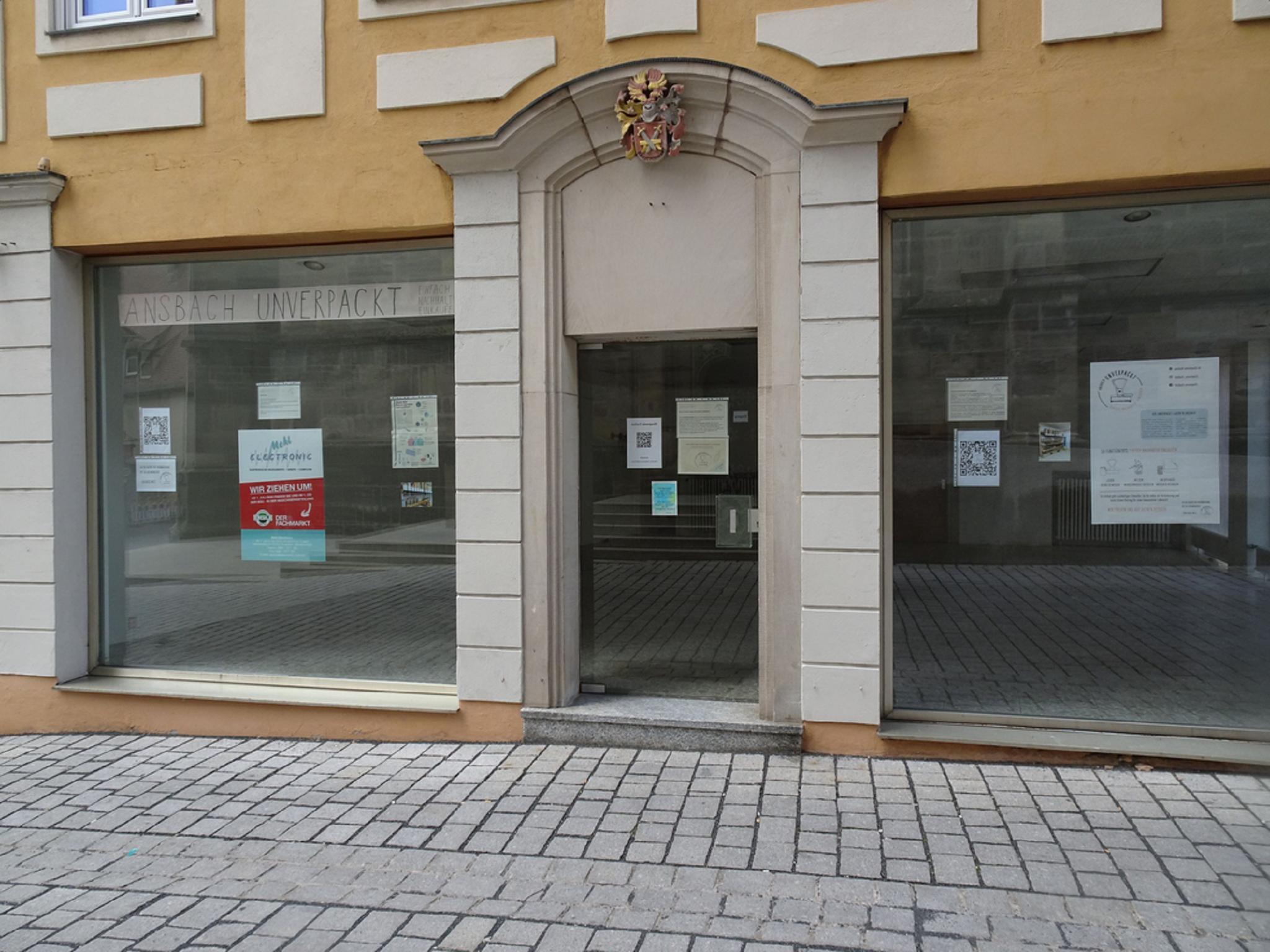 Hier soll der neue Unverpackt-Laden in Ansbach eröffnet werden. Foto: Sarah Robinson