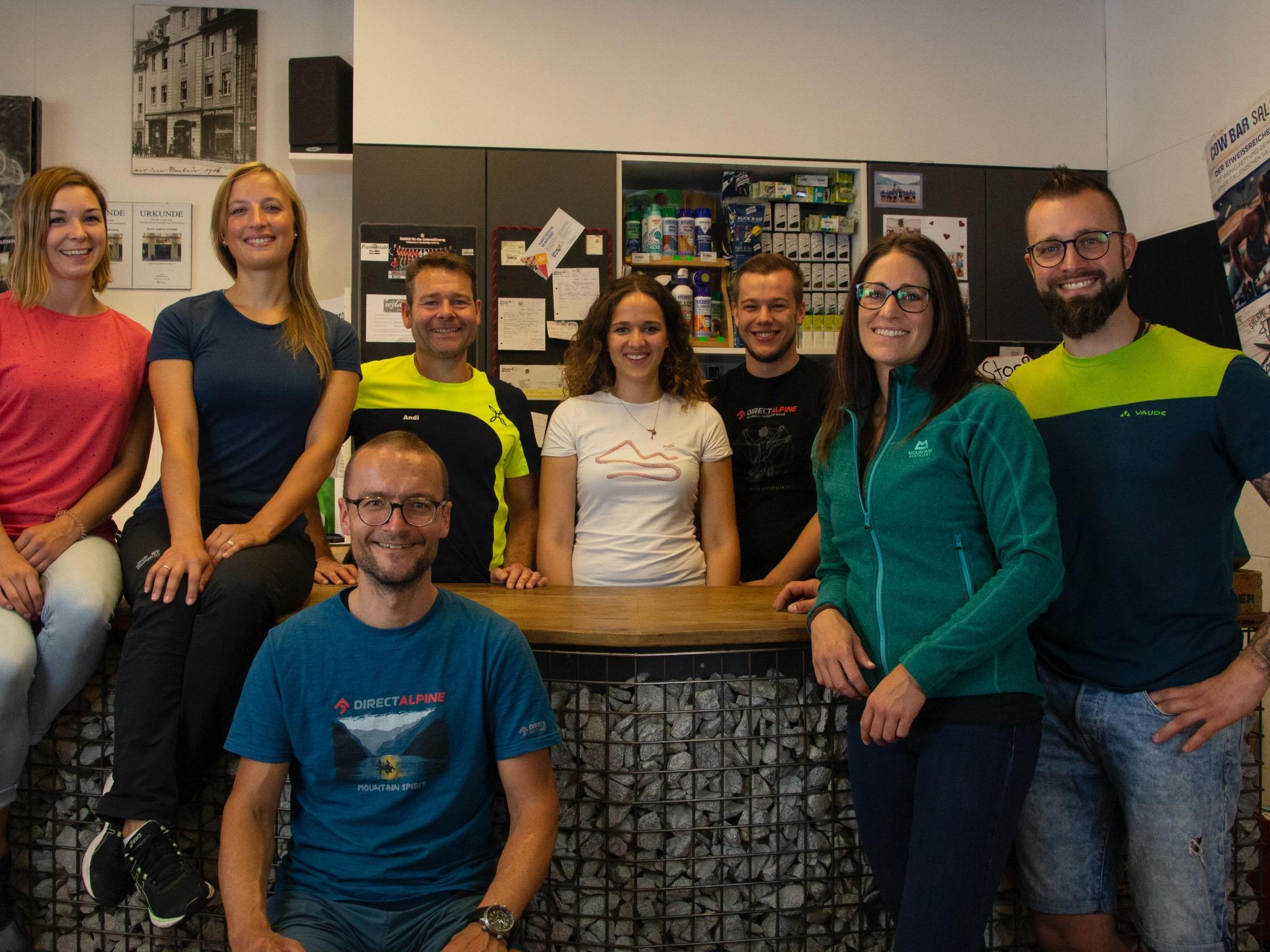 Kompetente Beratung durch die Profis von Mountain Sports in Ansbach. Foto: Mountain Sports