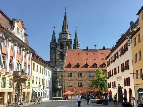 Die Innenstadt in Ansbach. Foto: Ansbach Plus