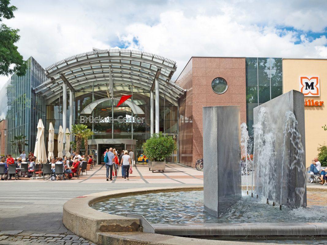 Brücken-Center in Ansbach. Foto: Clemens Mayer