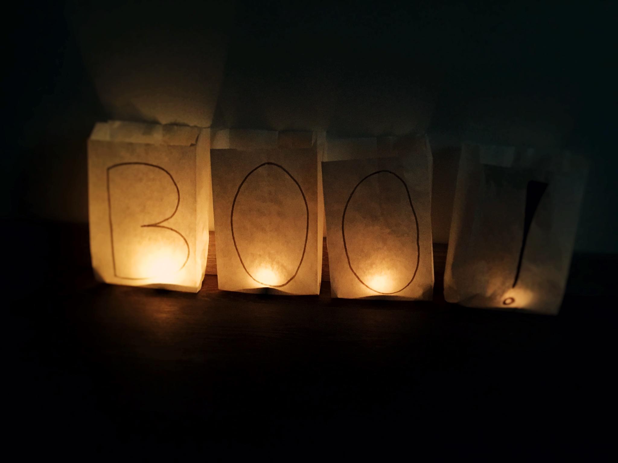 Die perfekte Beleuchtung für Halloween. Foto: Selina Dietrich