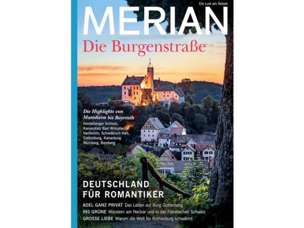 Das Cover der neuen MERIAN-Ausgabe. Foto: Stadt Ansbach