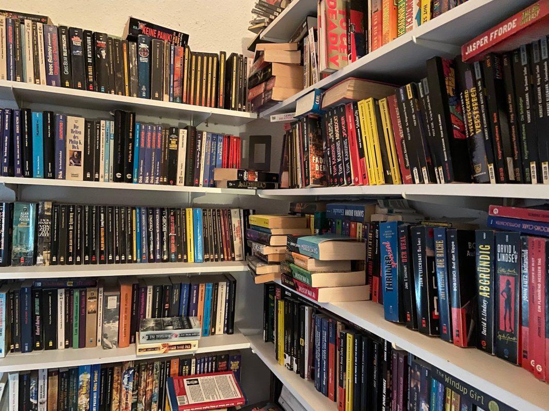 Bücher über Bücher. Foto: Lilli Müller