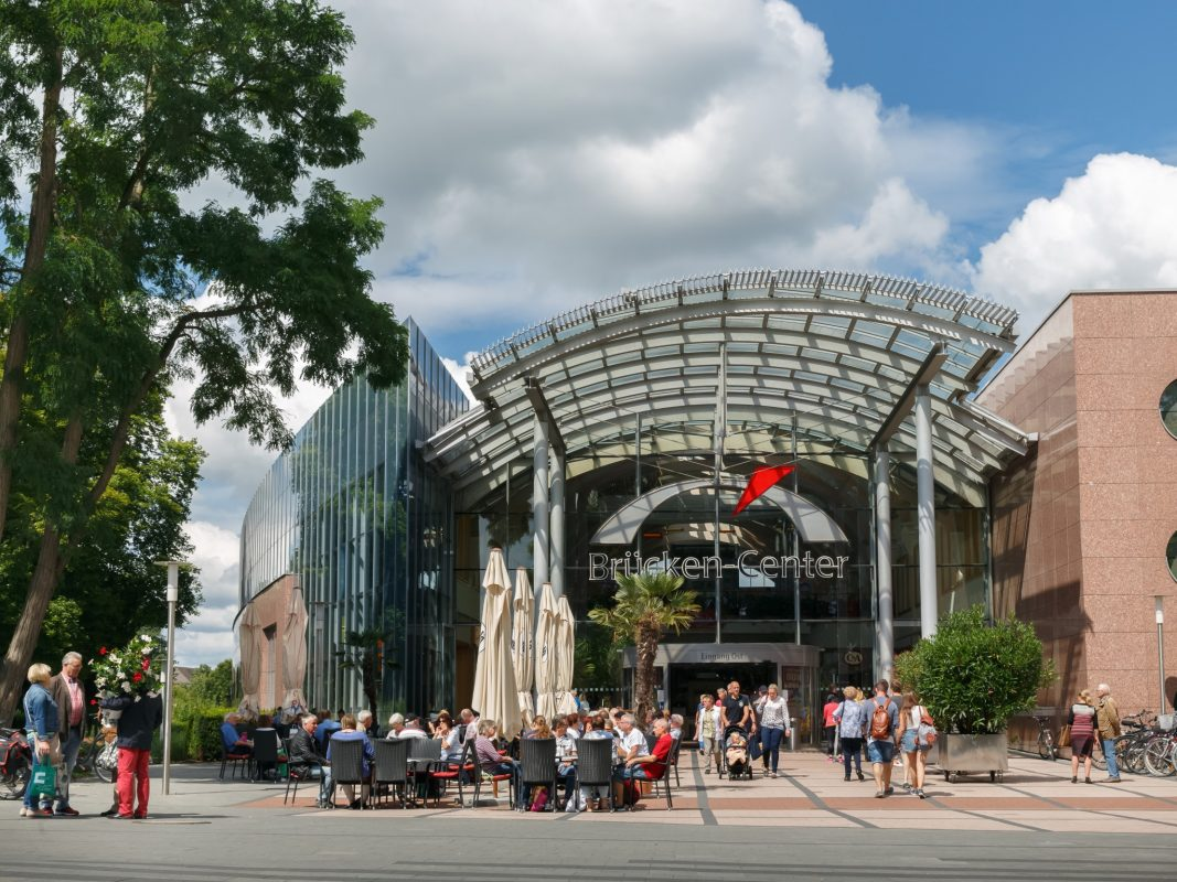 Das Brücken-Center in Ansbach, Foto: Clemens Mayer