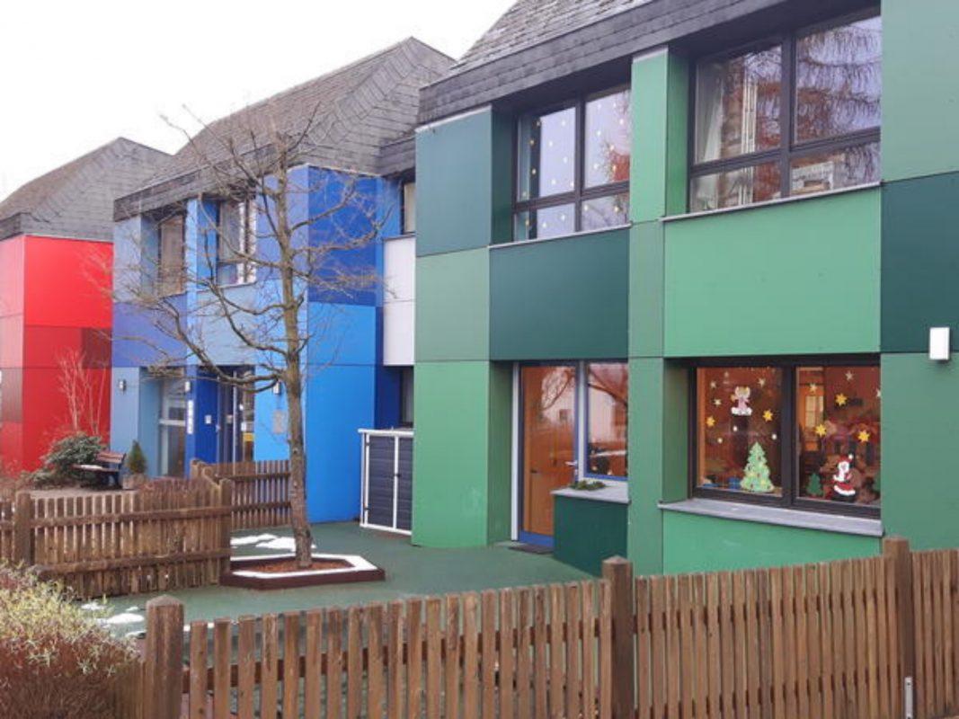 Das Kinderhaus Kunterbunt. Foto: Stadt Ansbach