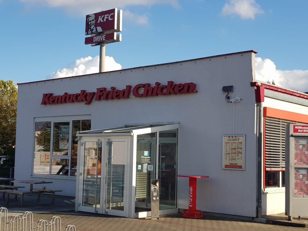 Eine KFC-Filiale. Symbolfoto: Dirk Flieger