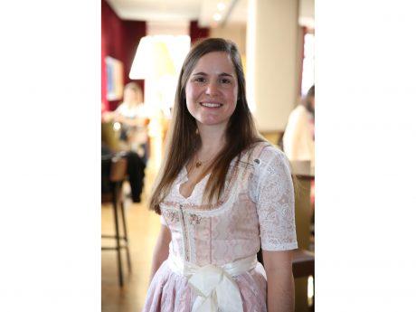 Amanda Gary aus Wolframs-Eschenbach will Bayerische Bierkönigin werden: Foto: Bayerischer Brauerbund