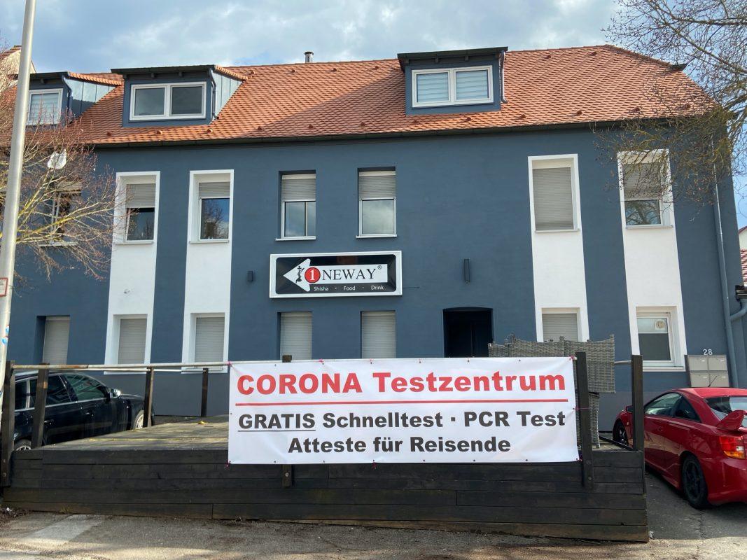 Ein Corona Testzentrum gibt es nun in der Bandelstraße. Foto: Etienne Vorwerk