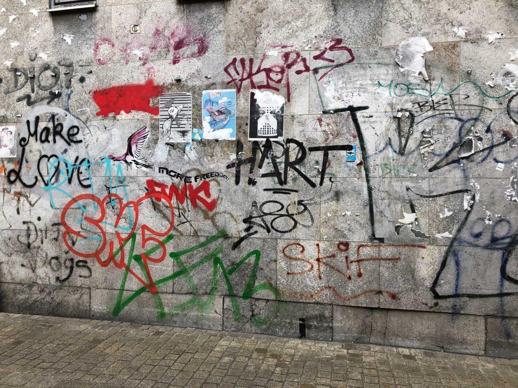 Graffiti-Schmierereien. Symbolfoto: Katharina Kraus