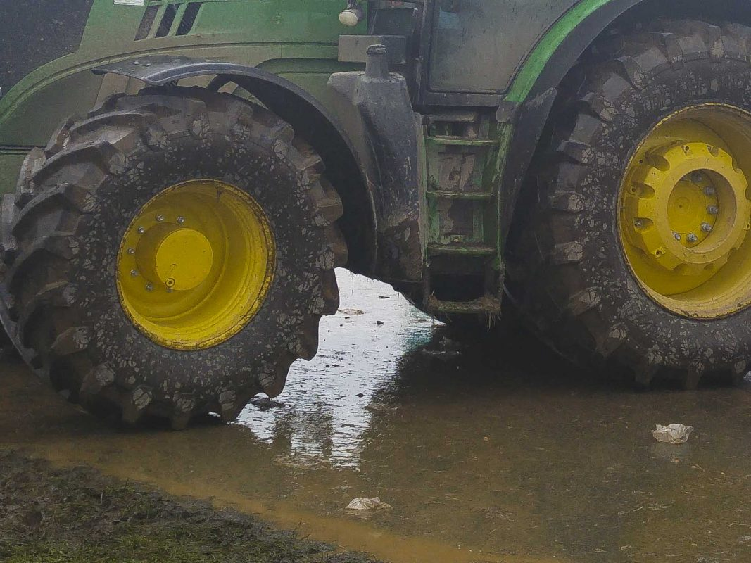 Traktor. Symbolbild: Dominik Ziegler