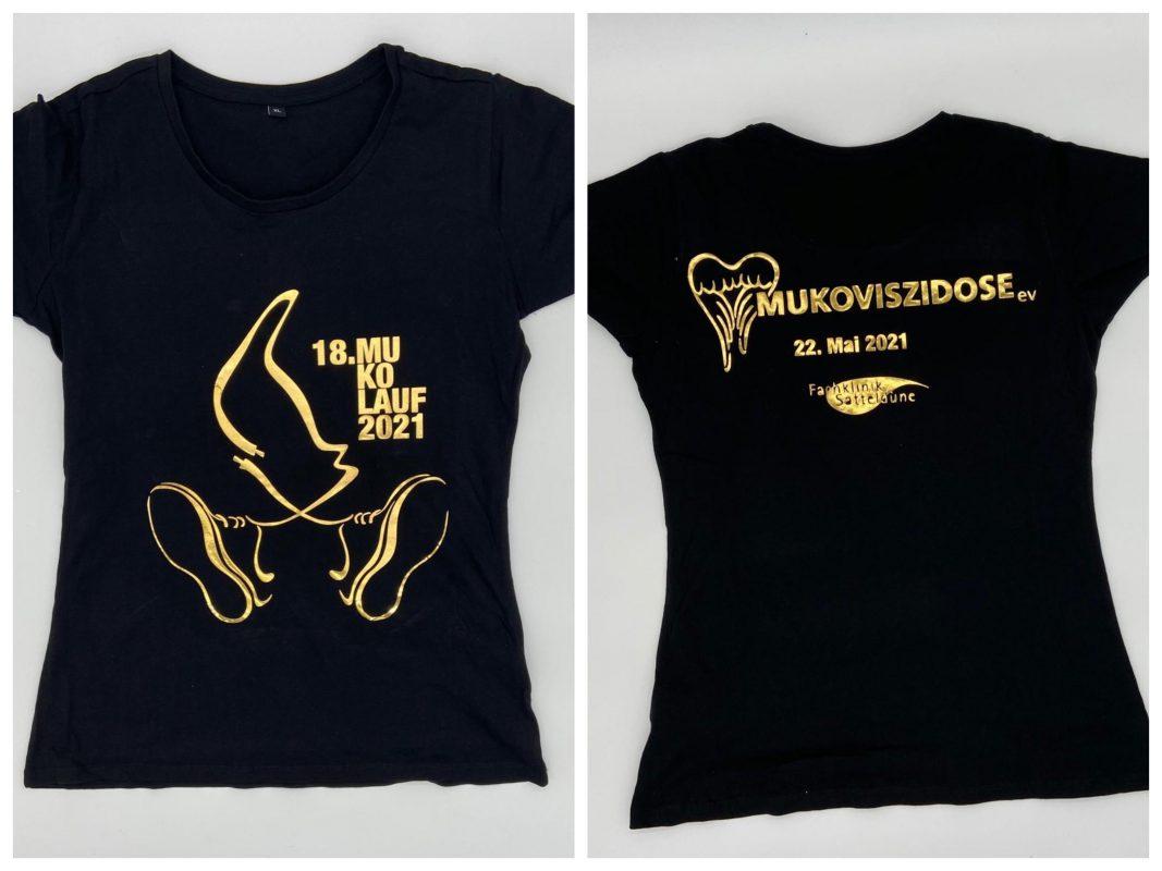 Die T-Shirts des diesjährigen Mukolaufs. Foto: Christin Nether
