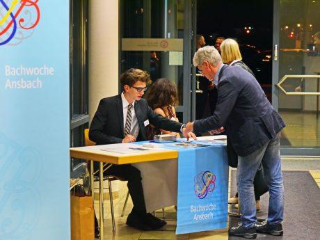 Für die Bachwoche 2021 werden noch Helferinnen und Helfer gesucht. Foto: Bachwoche Ansbach