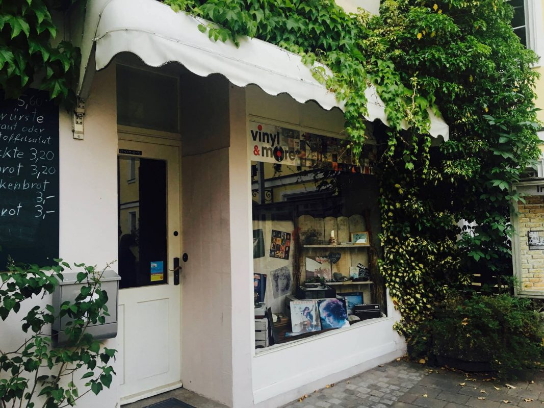"""Plattenladen """"vinyl & more"""" in Ansbach. Foto: Ansbach plus"""