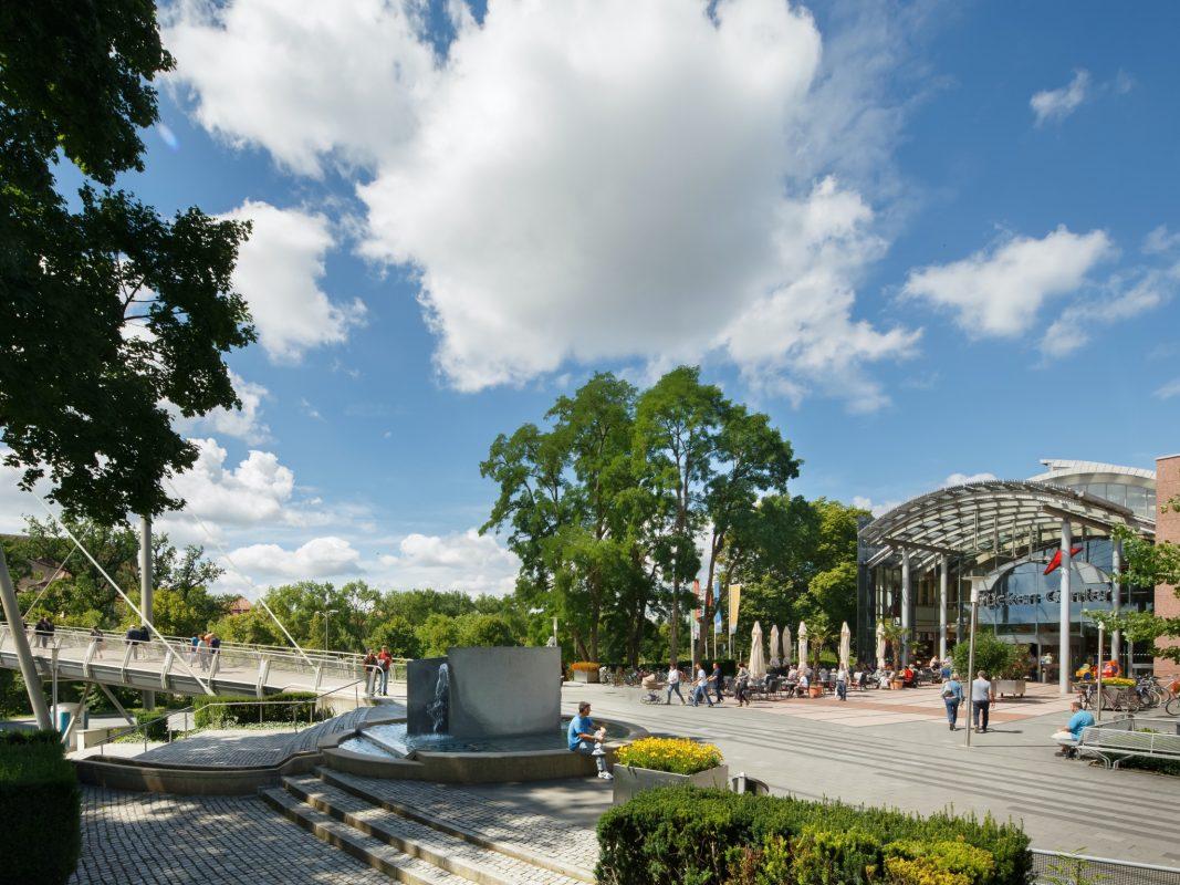 Das Brücken-Center in Ansbach. Foto: Brücken-Center