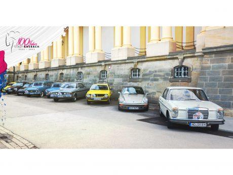 Rund 35 Oldtimer werden in Ansbach erwartet. Foto: Stadt Ansbach