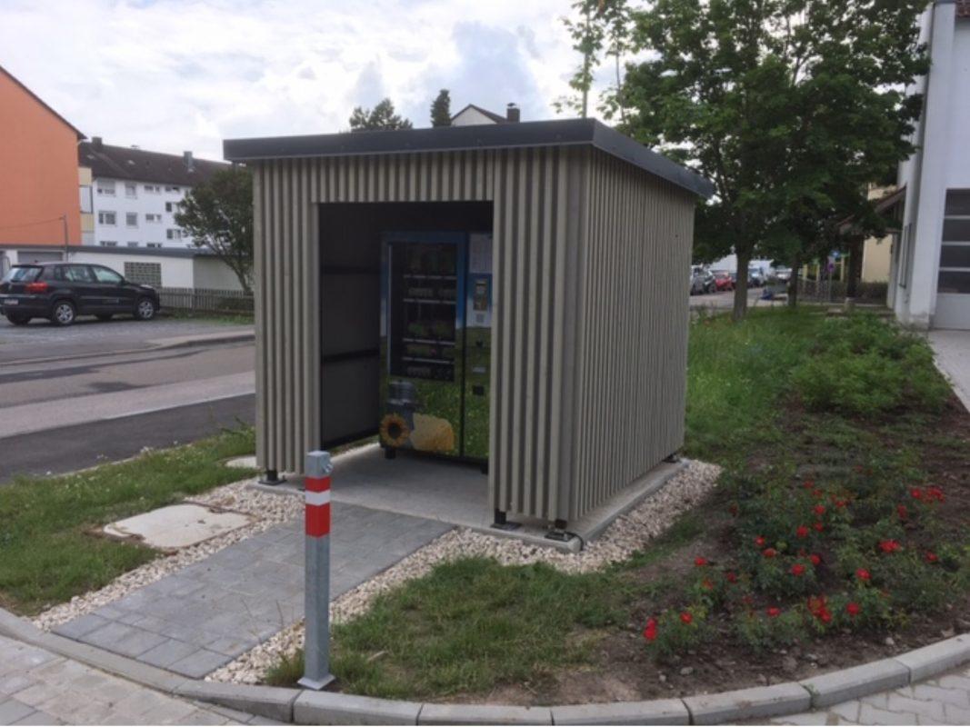 Der neue Regiomat in Ansbach. Foto: Maußer Hof