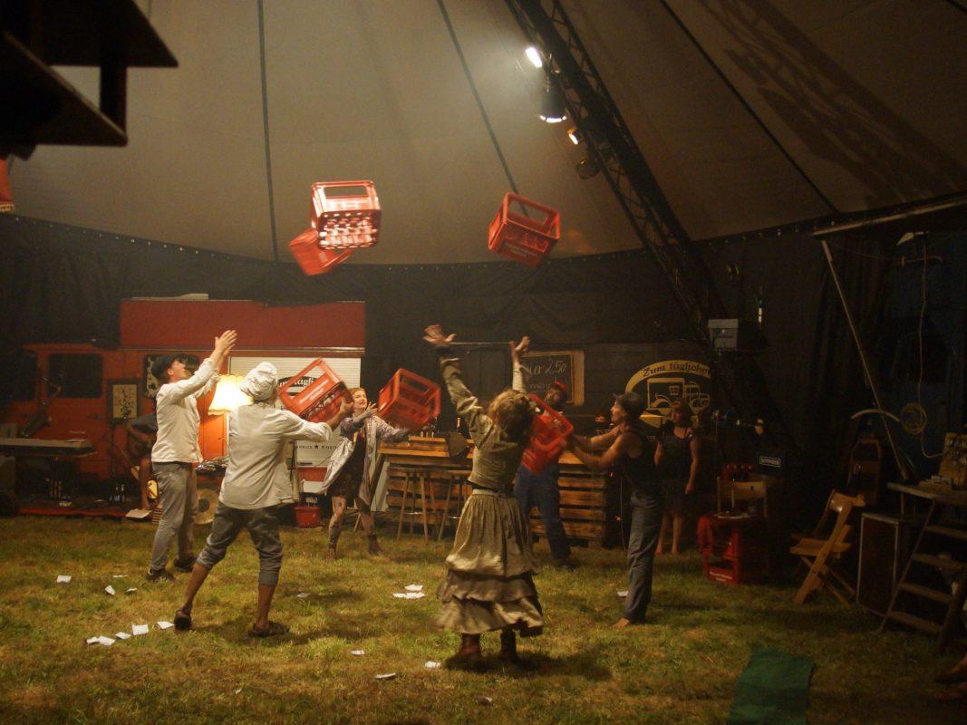 Das Wandertheater ist im August in Leutershausen zu Gast. Foto: Zirkus Zansiba
