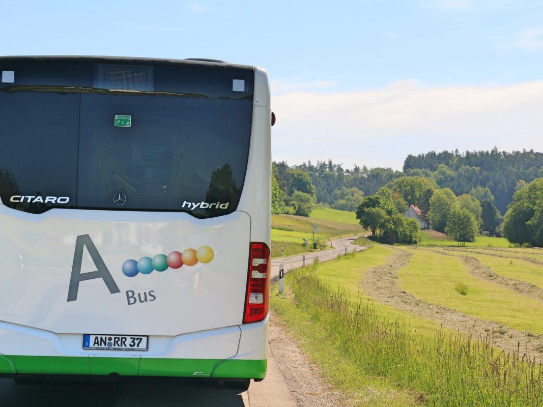 Es kommt zu Umleitungen! Foto: Ansbacher Bäder und Verkehrs GmbH