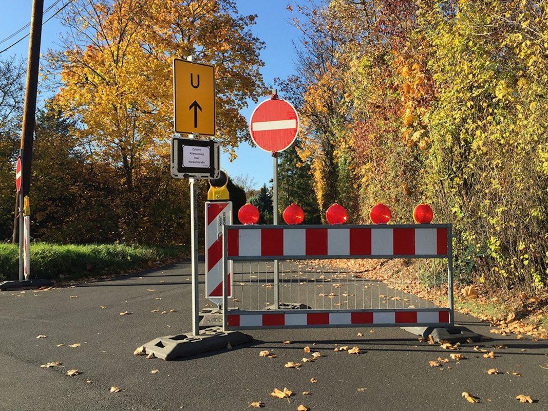 Symbolbild Sperrung - Foto: Pascal Höfig